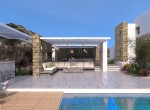 Exterior Pool View + Lounge